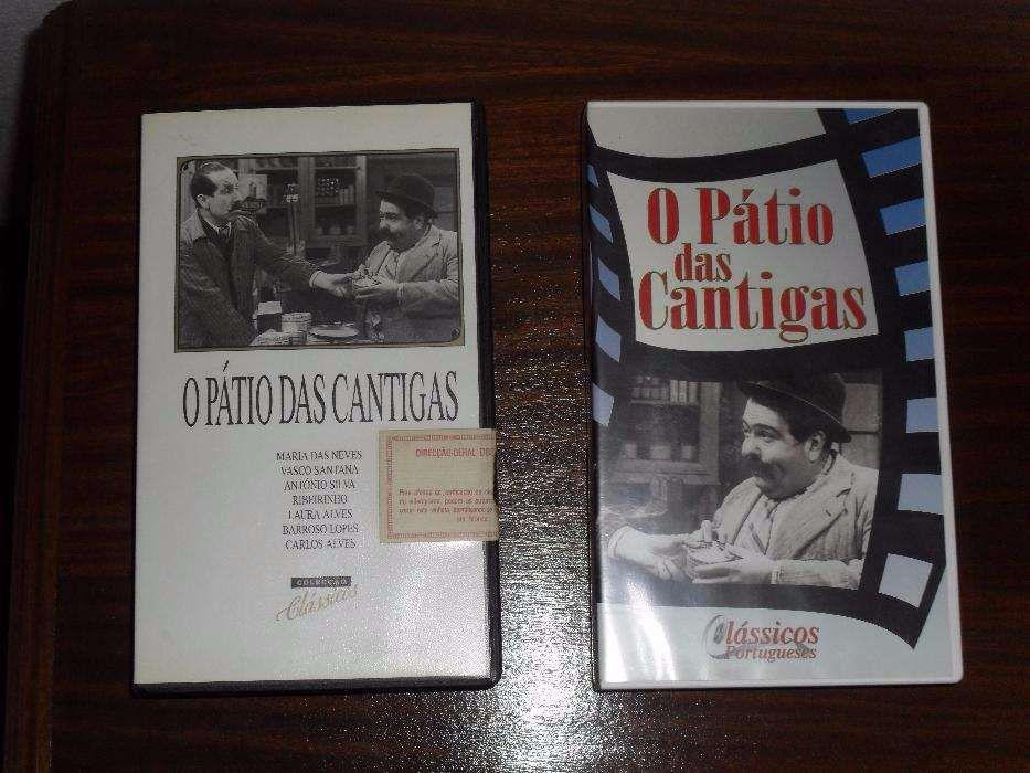 Cassete VHS - O Pátio das Cantigas