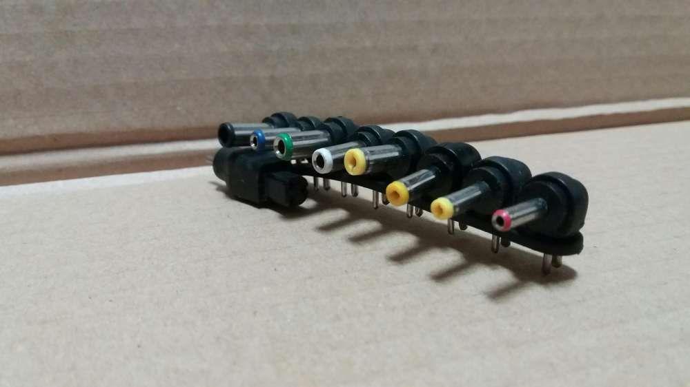Adaptadores conectores para carregadores universais - varias marcas