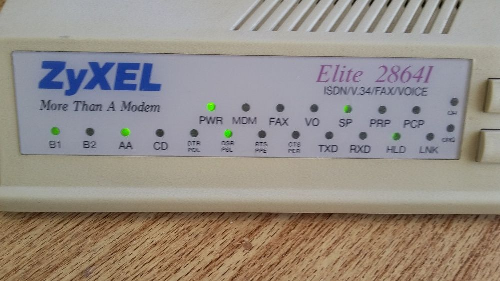 Router-Moden- Vintage V.34 Externo