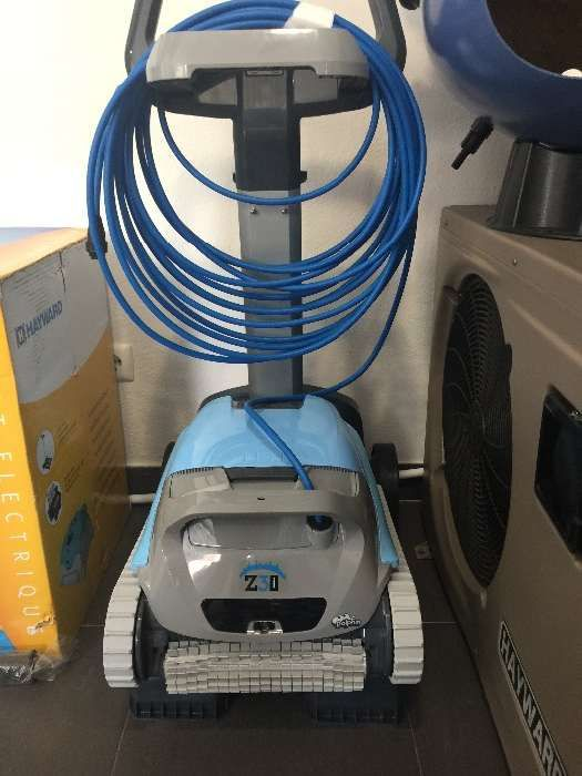 Robot Z3i aspirador automático electrico piscina liga telemóvel iPhone Cascais E Estoril - imagem 2