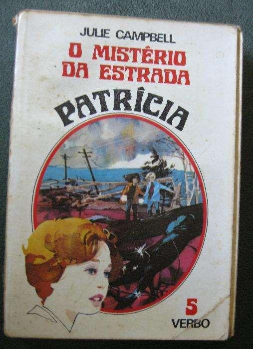 5 Livros Juvenis Vintage Coleção Patricia - Kathryn Kenny / Julie Camp