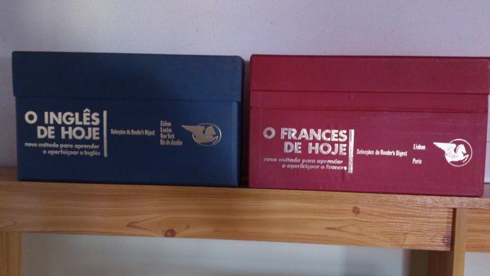 Manuais de Inglês e Francês
