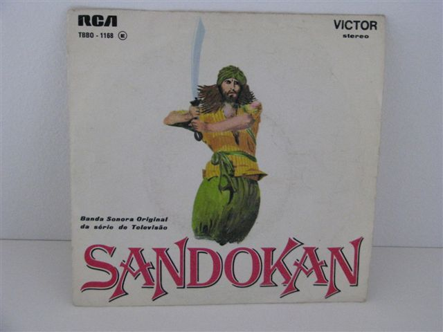 Vinil single Sandokan - Banda Sonora