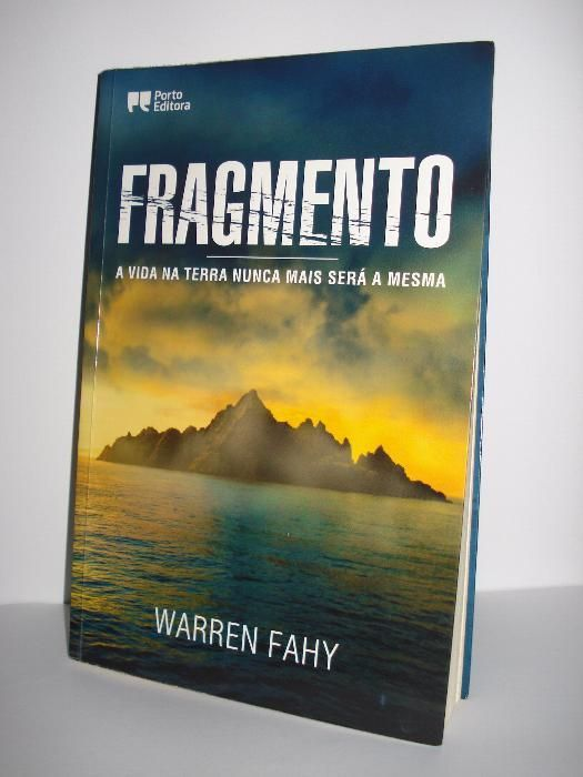 Livro Fragmento de Warren Fahy como novo
