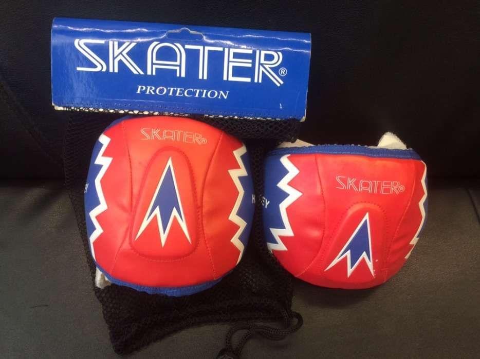 Joelheiras Skater novas