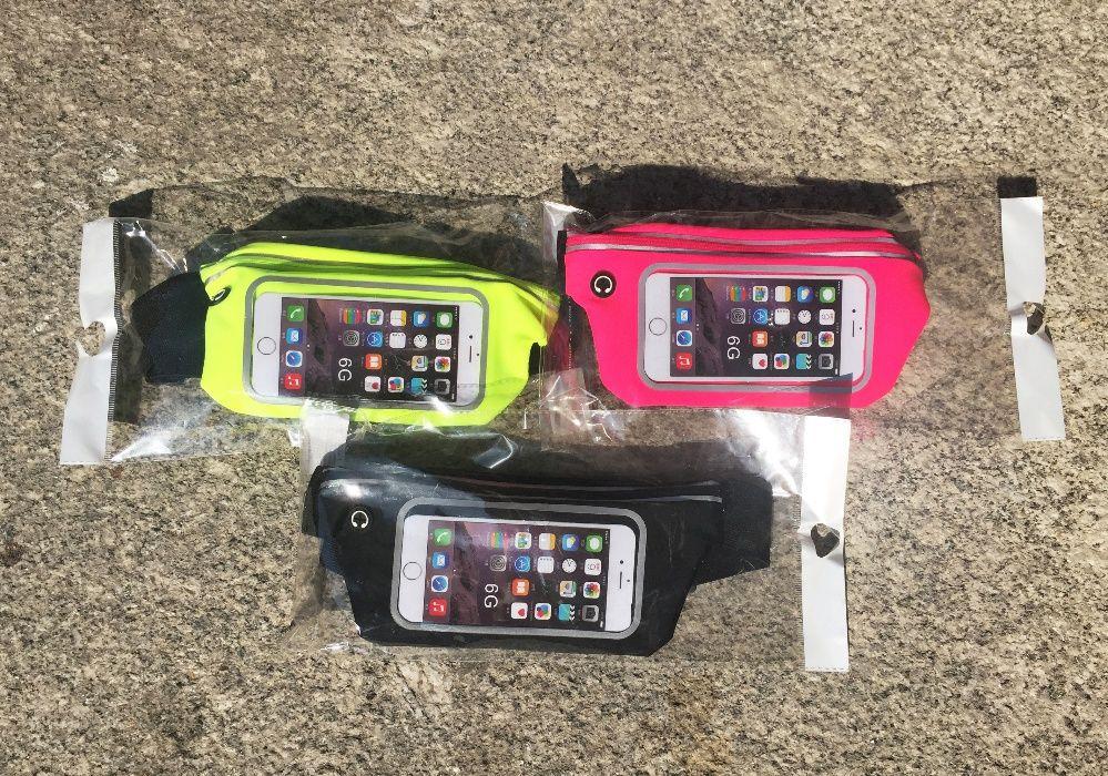 "Bolsa/ Cinto de corrida para Smartphone (4.7"") - iPhone 6 e 6S"