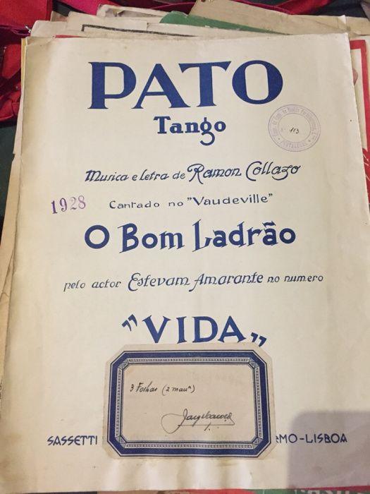 Grande coleção Partituras Antigas Sé E São Lourenço - imagem 4
