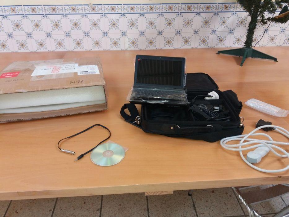 ecografo veterinario , novo em caixa de fabrica ,inclui sonda. manual