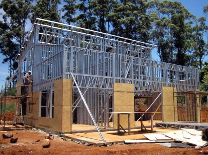 casas steel framing