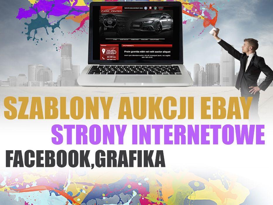 Nowa Oferta 2021 Szablony Aukcji Ebay Allegro Strony Www F Vat Warszawa Srodmiescie Olx Pl