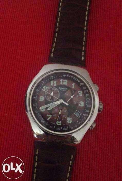 8f620fd5259 Relógio Swatch como novo