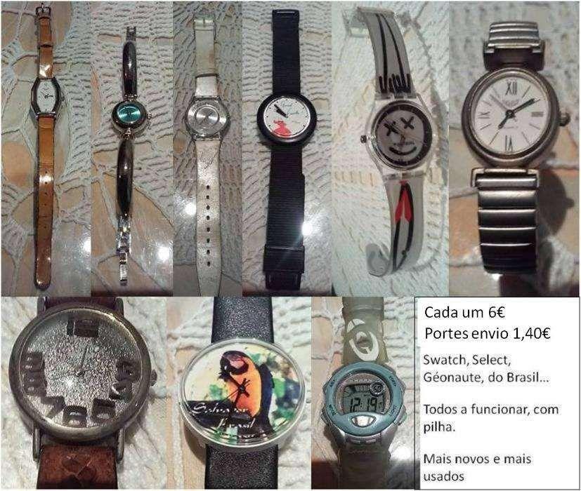 dcd03c1f9b9 8 relógios de pulso lote promoção Swatch