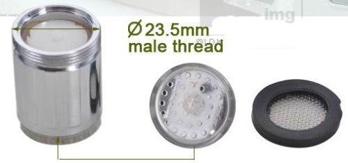 ツ Sensor de temperatura para torneira - LED RGB - portes grátis