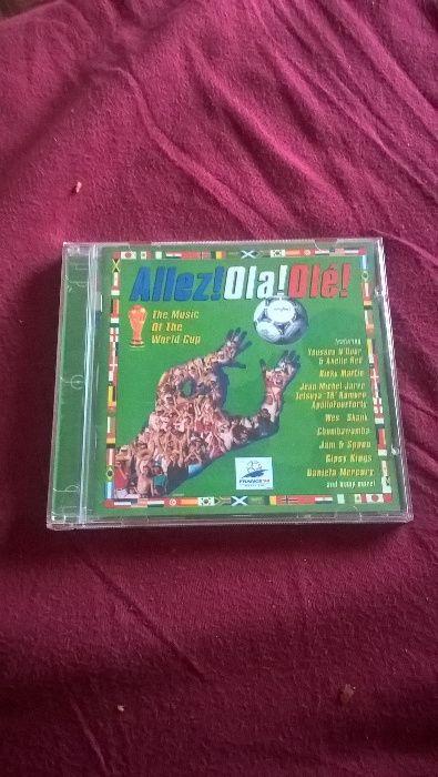 CD Allez! Ola! Olé! - Vários Artistas