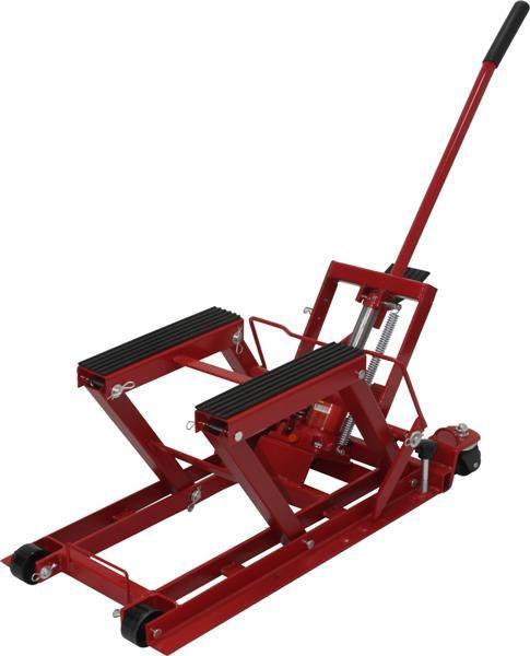 Elevador Hidráulico Macaco para motos capac. 680 Kg