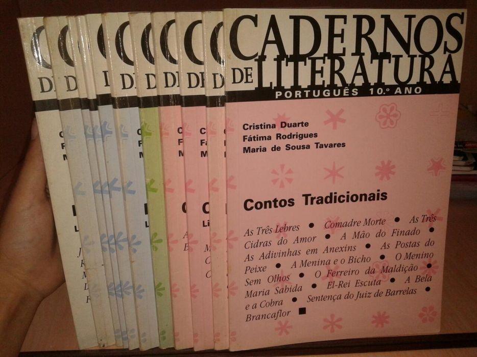 Lote de Cadernos de Literatura