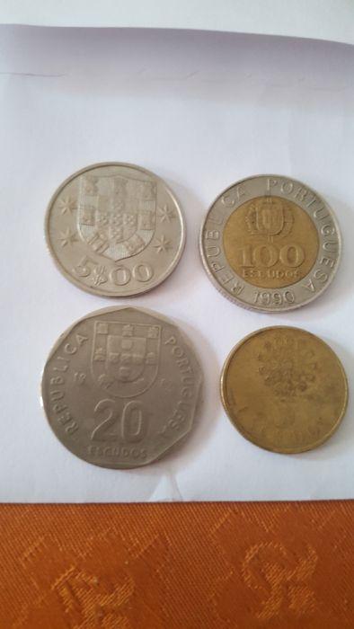 Vendo 4 Moedas portuguesas antigas