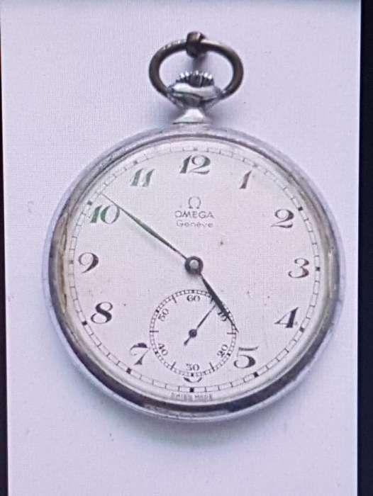 a9616f338b0 Relógio de bolso OMEGA Genéve de colecção com mais de 100 anos
