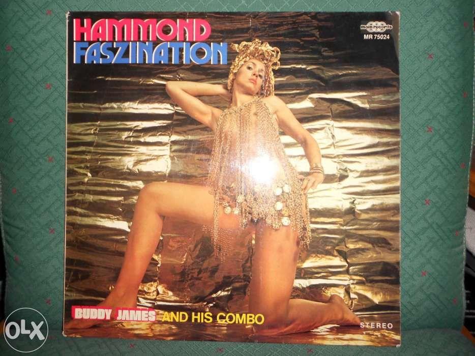Buddy james and his combo – hammond faszination - Vinil