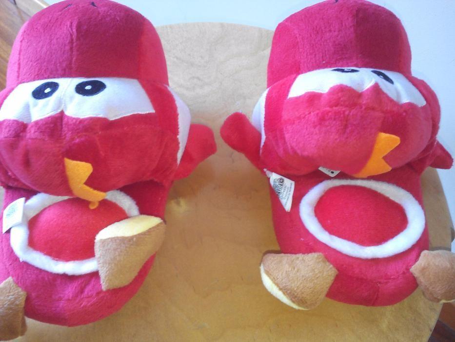 Chinelos criança Peluche Yoshi Nintendo Super Mario Brothers Braga - imagem 3