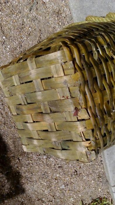 Grande raro cesto vindimas vintage em bom estado Matosinhos E Leça Da Palmeira - imagem 5