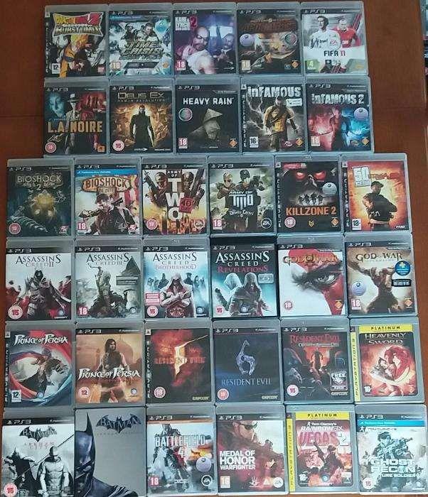 Lote - Jogos Sony Playstation, PS1, PS2, PS3 e PSP