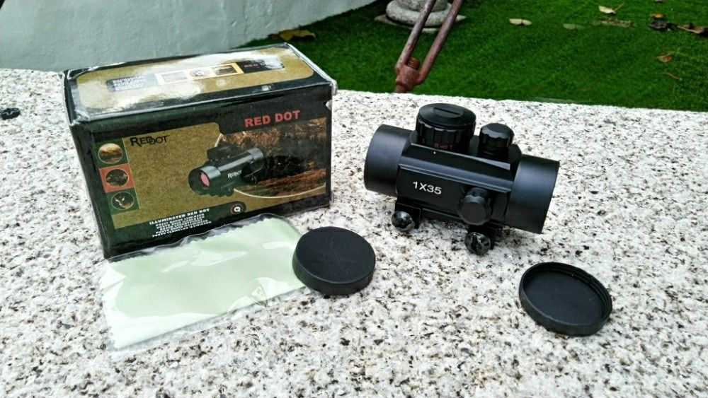 Red dot, novo - Airsoft, caça