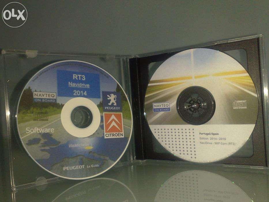 CD GPS mapas Peugeot / Citroen 2017 Wip Com RT3