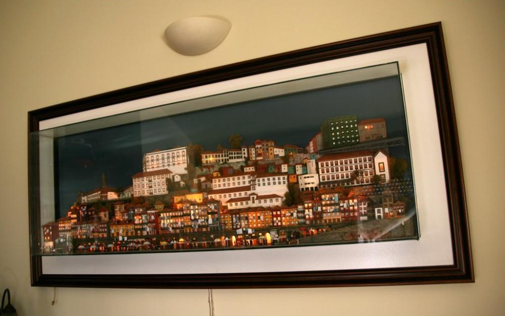 Ribeira do Porto miniatura gigante em 3D !
