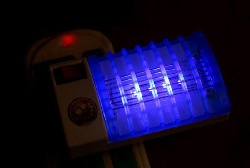 Mata Moscas eléctrico luz led
