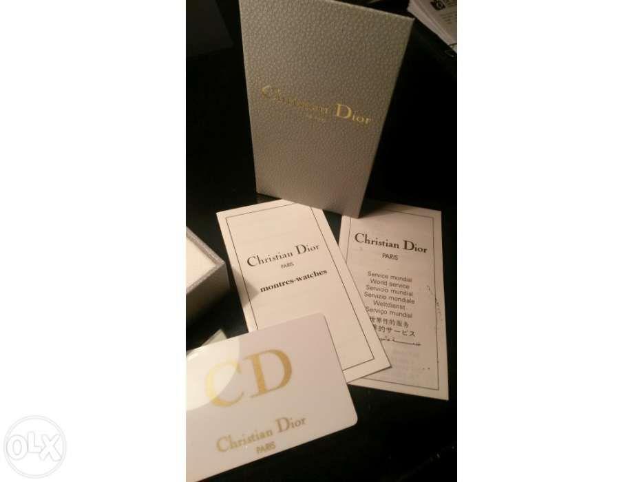 2996c162fa4 Relógio de Senhora Christian Dior Paris original novo na caixa Parque das  Nações - imagem 5