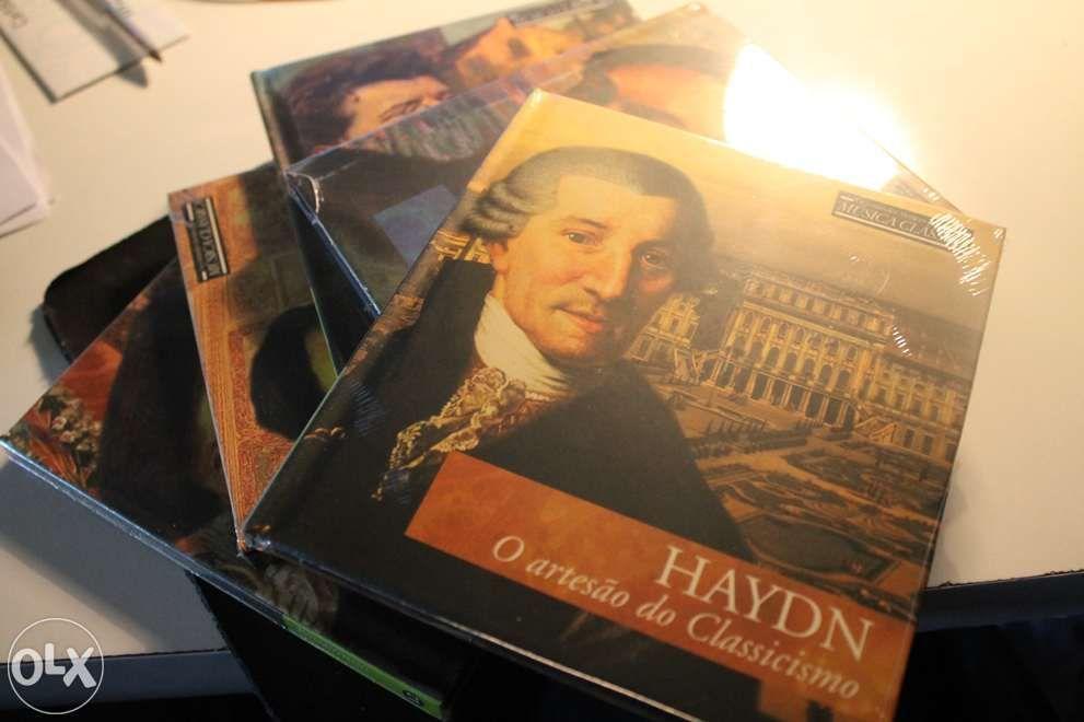 Grande colecção de CDs música clássica. 33 CDs