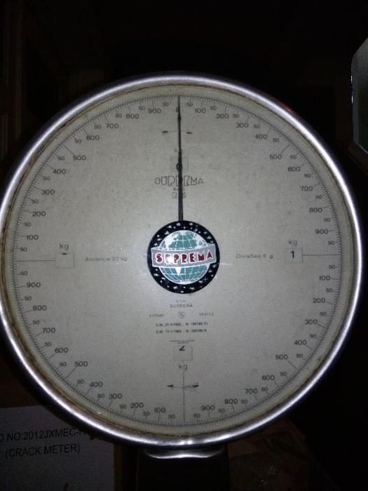 Balança Relógio Suprema
