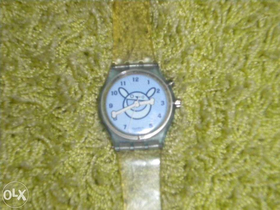 cedb6ec4e20 Relogio swatch para criança