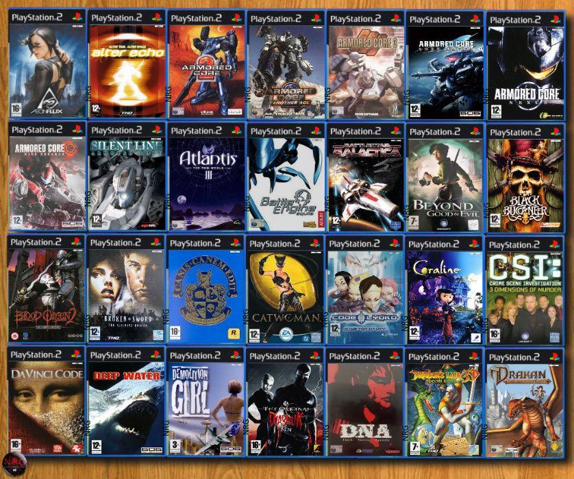 [PS2] 118 Jogos AVENTURA (Vendo à Unidade - Ver Preços ↓)