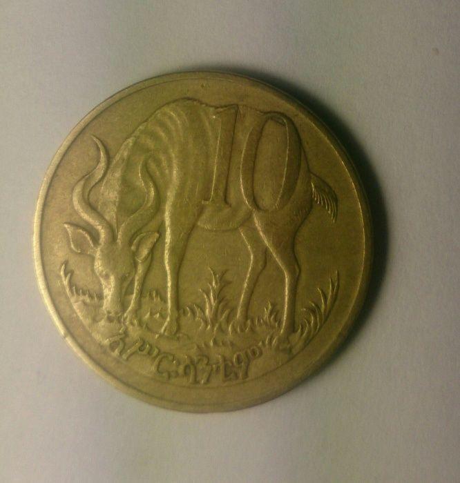 Эфиопия 10 Бир