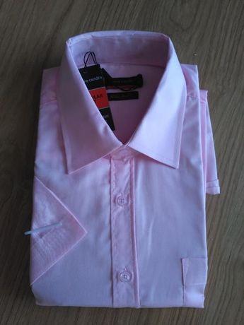 NOWA Koszula męska Pierre Cardin, krótki rękaw, rozmiar S  IZkYW