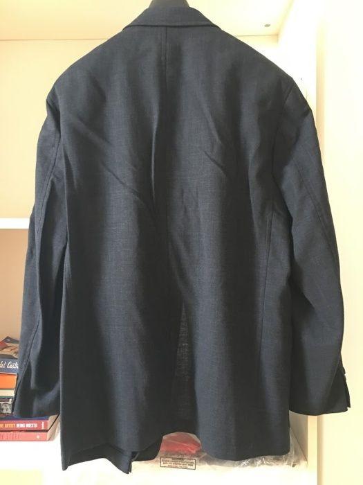 Casaco Blazer Homem Tamanho M Azul Escuro (Verão) Alcochete - imagem 2 001a7d1111f