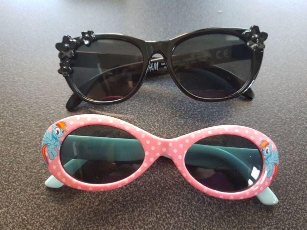 Okulary przeciwsłoneczne dla dzieci little pony i H&M Gdynia