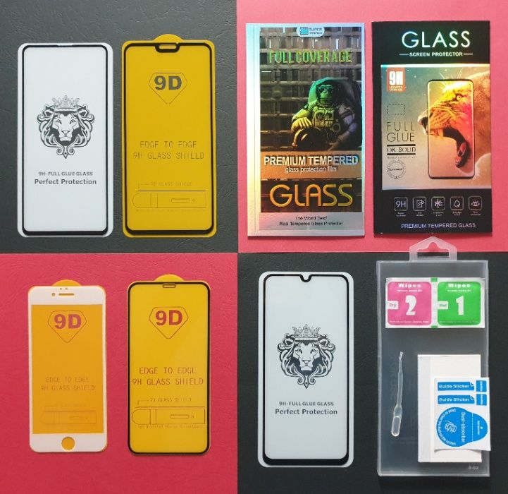 Захисне скло Samsung A10,20,30,40,50,70,90 J,A,S 1,2,3,4,5,6,7,8,9