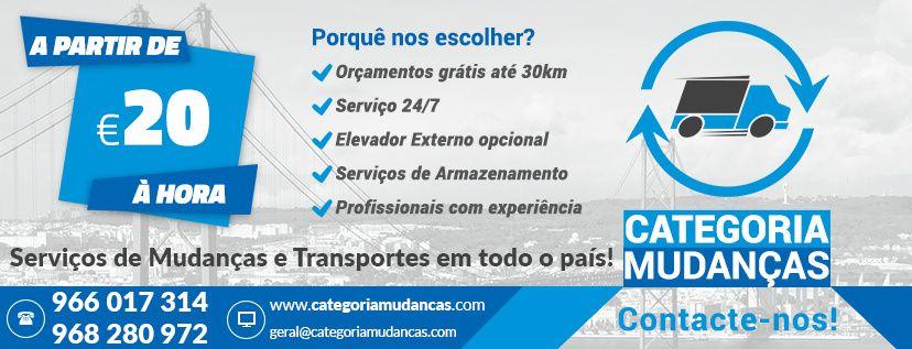 Categoria Mudanças - Serviços de Transportes e Mudanças Nacional e Int
