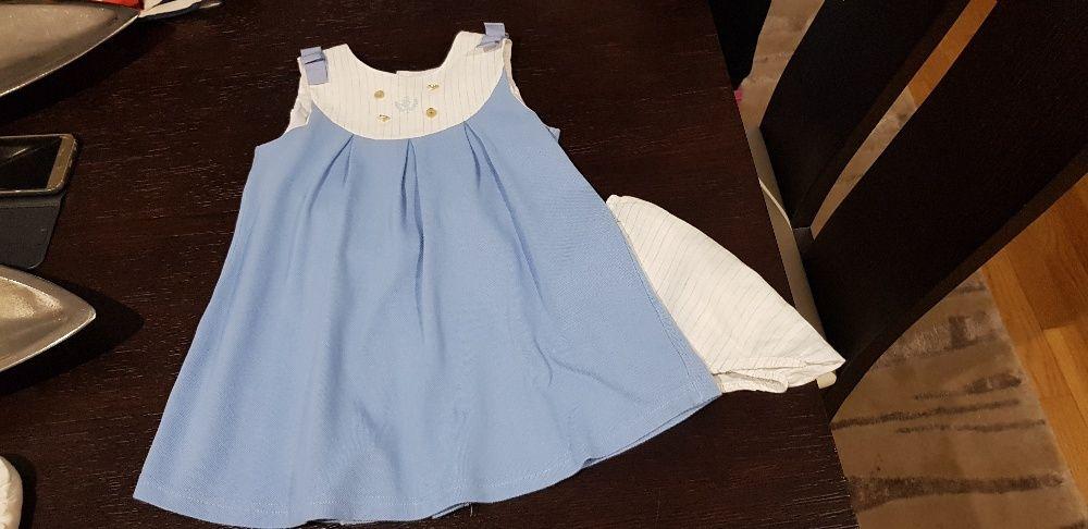 Vendo vestido azul bebé tamanho 4 da Pili carrera em excelente estado 47db71e8420