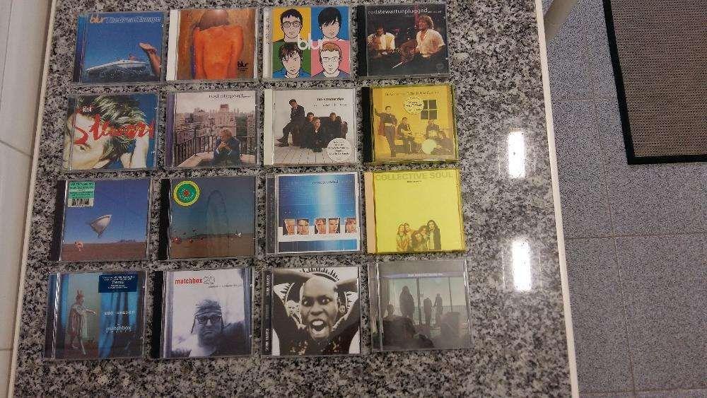 CD Diversos Creed - James - U2 - The Verve - Matchbox 20 - Bon Jovi...