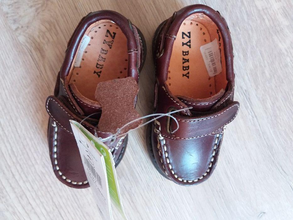 Sapatos para bebê em pele-NOVOS muito bonitos