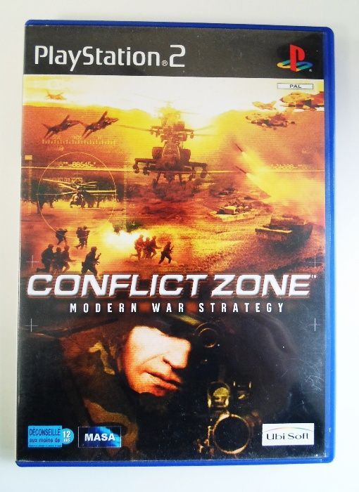 Jogo PlayStation 2 // Conflict Zone - Modern War Strategy