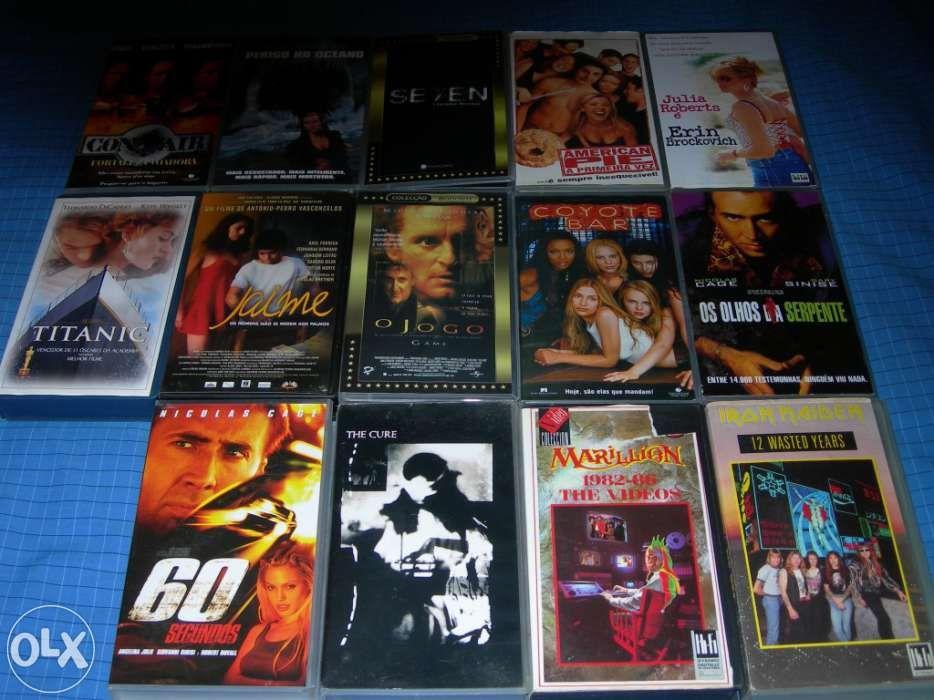 Cassetes 12 VHS