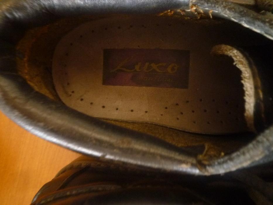 Sapatos em pele nº 34 Fabricado em Portugal Campolide - imagem 2