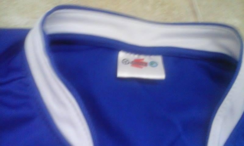 Camisola oficial da selecção de Futebol da Tailândia (rara)
