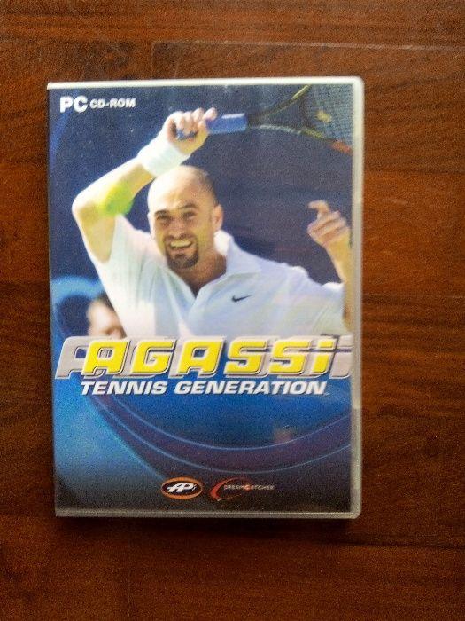 Agassi - Tenis Generation - para PC cd-rom