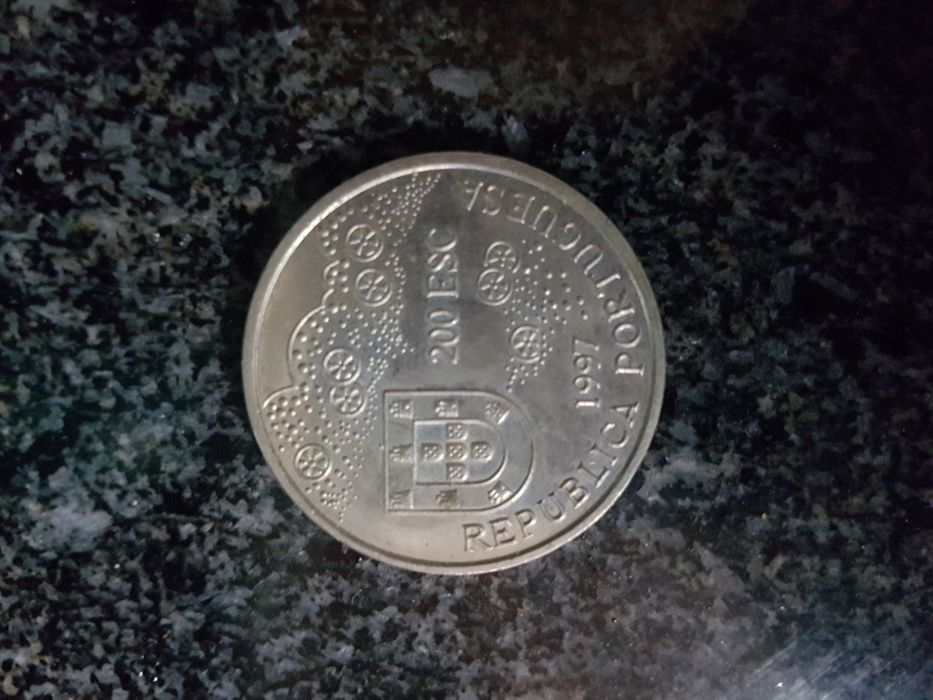 Moeda 200 escudos 1997